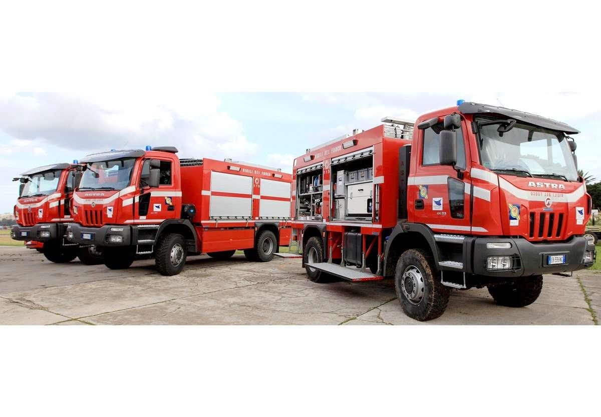 Consegna di nuovi automezzi alla Regione Siciliana