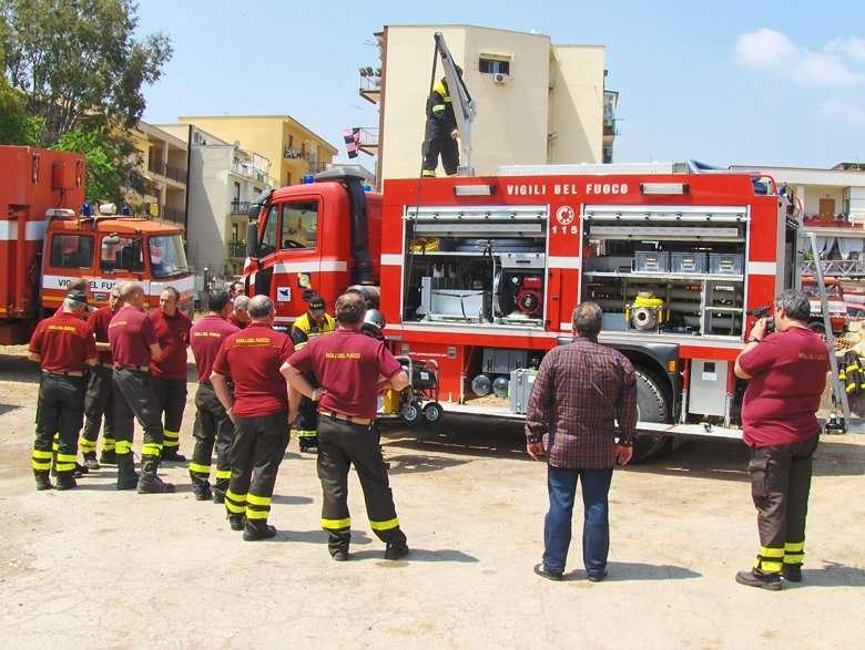 Corso di formazione e dimostrazione USAR LIFE 330 Regione Siciliana