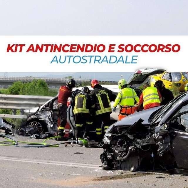 Kit antincendio e soccorso autostradale