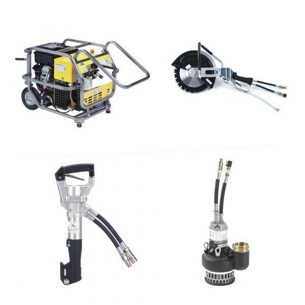 Kit idraulico soccorso usar