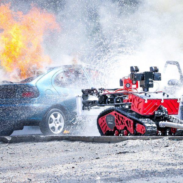 Robot antincendio a controllo remoto vvf 1