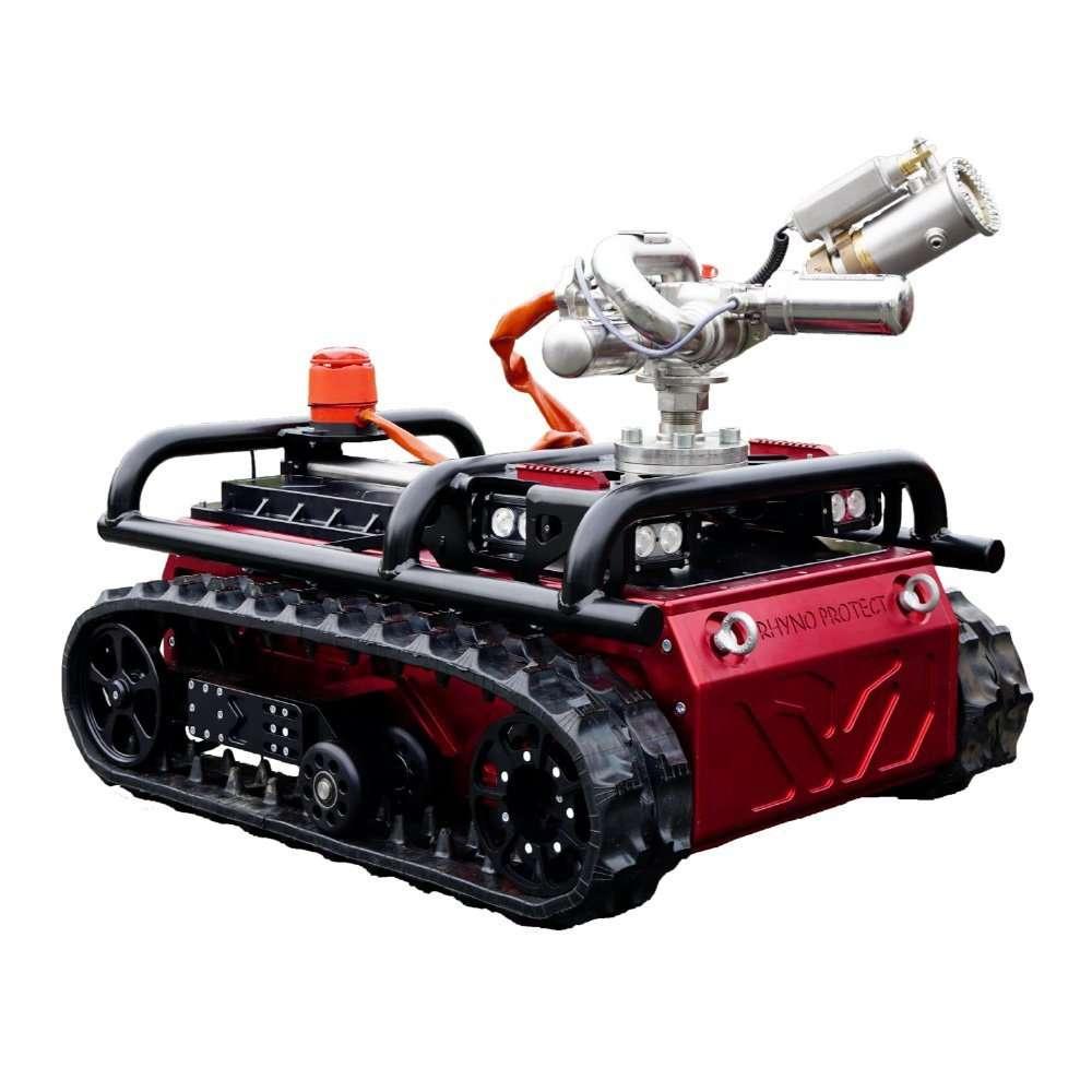 Robot antincendio con monitore