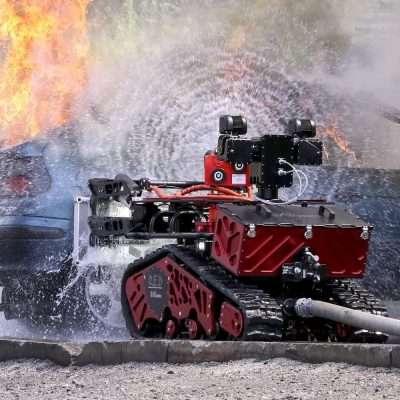Robot antincendio colossus