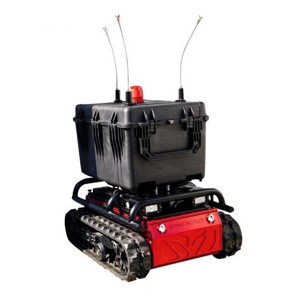 Robot per sanificazione e disinfezione
