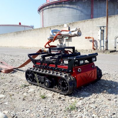 Robot Antincendio per Vigili del Fuoco RED